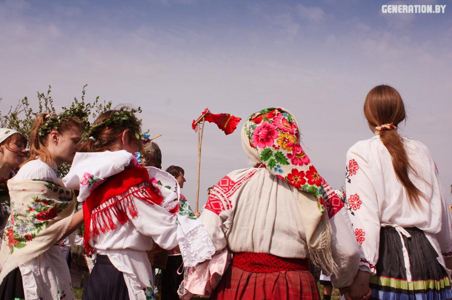 Паганскія і хрысціянскія традыцыі ў двух святах Юр'я за адзін сезон